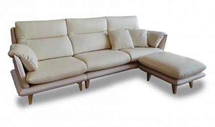 麥迪文-皮沙發