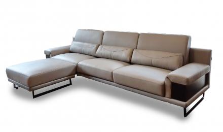 摩根-皮沙發