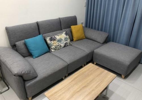 [開箱]台南旗艦店赫里亞手工沙發 客廳耍廢最棒沙發