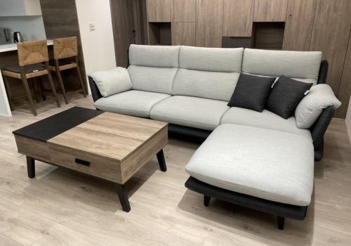 新沙發開箱-赫里亞麥迪文布沙發