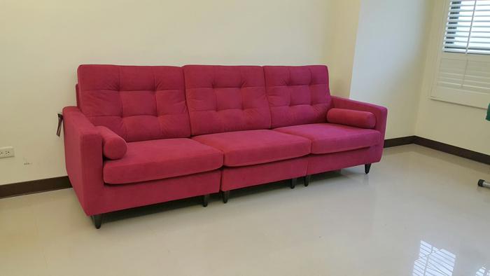 懷特-布沙發