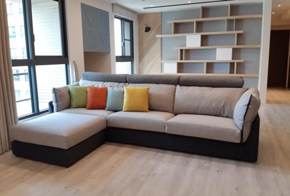 米蘭朵-布沙發