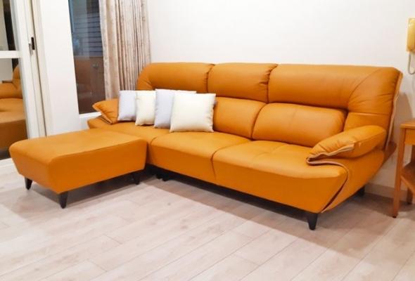 梅迪奇-皮沙發