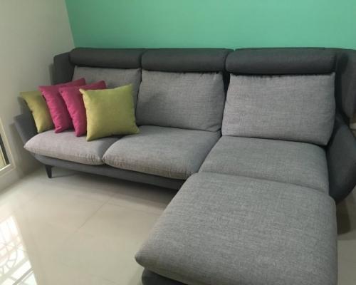 赫里亞手工訂製沙發開箱分享