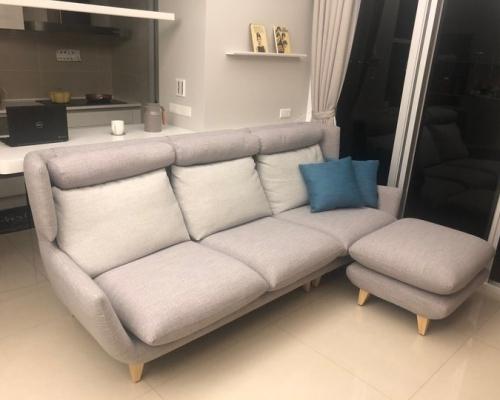 [開箱] 赫里亞 -當沙發舒適到外觀美型只是加分